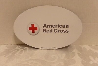 """American Red Cross Magnets Sign~5 34"""" X 3 3/4"""""""