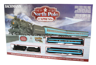 North Pole Express HO Ready to run starter Set - Bachmann 00751 JUST RELEASED!