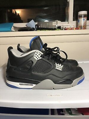huge discount 85fad d8352 Air Jordan 4 Retro Alternate Motorsport 308497-006 Black Used Size 10.5