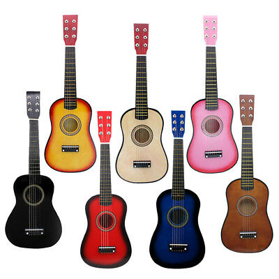 Portable Wooden Mini 6-strings Acoustic Guitar Clear Sound 535 x 175 x 55mm