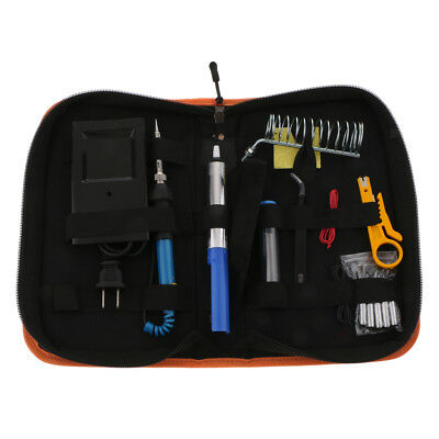110/220V 60W Adjustable Electric Temperature Welding Soldering Iron Tool Kit