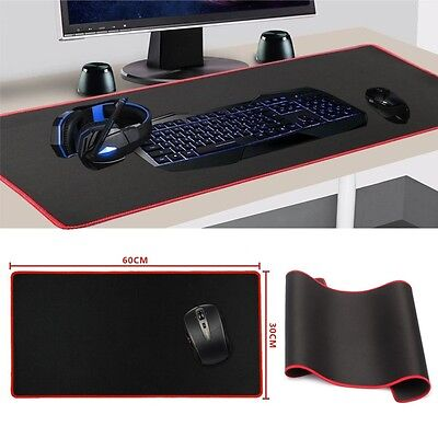 Extended Gaming Large Mouse Pad Macbook Anti-Slip 600x300mm Big Size Desk Mat UK