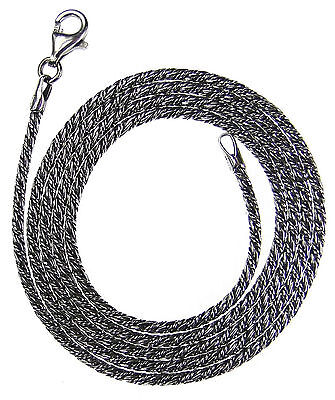 Gerochristo 3398 ~ Sterling Silver Antique Look Chain in 3 different lengths