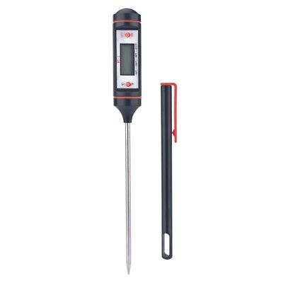 1X(Digital Thermometer BBQ Grill Meat Cookie Tool Car Air Conditioning Temp D6Y4