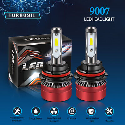 9007 HB5 LED Headlight Bulb Kit for Dodge Caravan 1996-2007 Hi/Lo Dual Beam