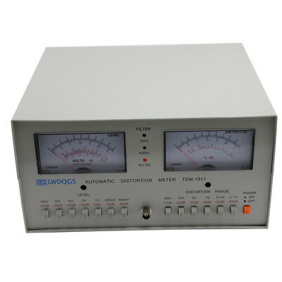 110-220V Automatic Distortion Meter 0.01% - 30% Audio Distortion Meter TDM-1911
