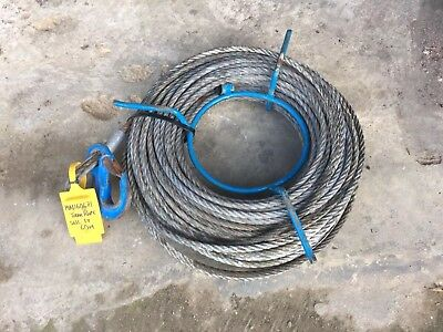 Wire hawser for Tirfor TU16 Winch Steel Cable..... 10.2mm.....  60m..... 1 Ton