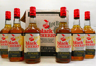 Jim Beam Black Cherry 700ml Deleted And  Rare-Last One Now!!!!