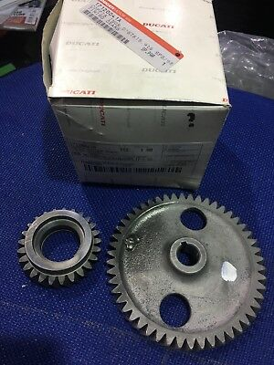 New Genuine Ducati 916Sps 916 888 851 Engine Timing Gear Set 17120041A