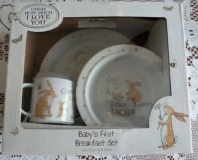 Guess How Much I Love You - Baby's First Breakfast Set