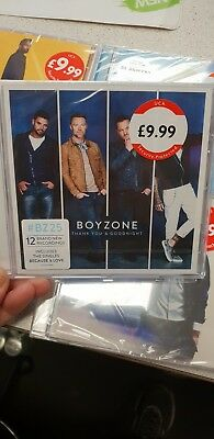 Boyzone Thank You & Goodnight Cd 2018