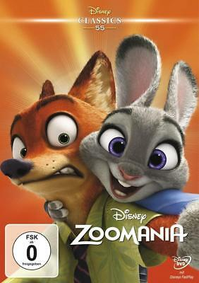 Zoomania Disney Classics Jared Bush DVD Deutsch 2016