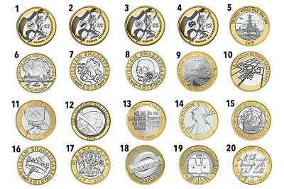 £2 Coin Two Pound ROYAL MINT BRITISH COIN HUNT RARE COLLECTABLE