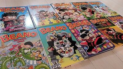 Collection 10 Beano Annuals from the 2000s