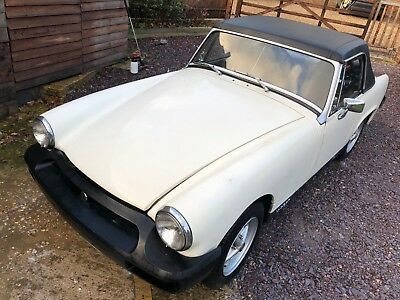 MG Midget 1979, with Hardtop, Tonneau cover and soft top.