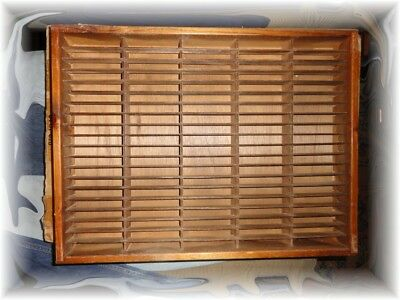 Vintage NAPA Valley Box Company 100 Slot Audio Cassette Holder