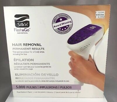 Silk'n Flash & Go Permanent Hair Removal Device