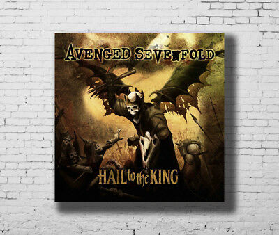 H244 Avenged Sevenfold Rock Band Music Hot Fabric Poster
