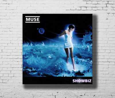 Y558 Muse Uprising Music Rapper Album Cover Hot Fabric Poster 16x16 24x24
