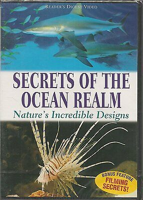 Secrets of the Ocean Realm - Nature's Incredible Designs DVD new sealed