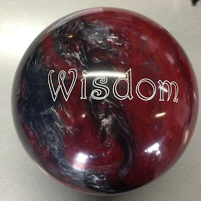 900 Global  WISDOM red/silver   Bowling Ball  16lb 1st qual $189  NEW IN BOX!!