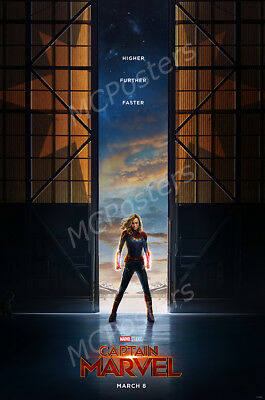 Posters USA - Marvel Captain Marvel 2019 Movie Poster Glossy Finish - MCP609
