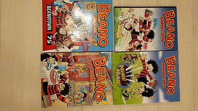 Collection 4 Beano Annuals from the 2010s