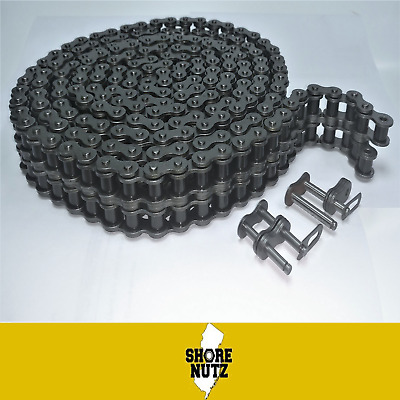 35  Roller Chain 10FT with 2 Master Links ANSI Standard  3//8 PITCH  35-1 35-1R