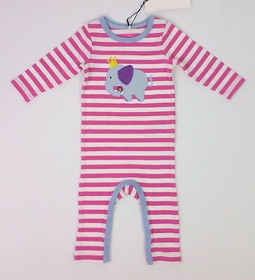 Baby GIRLS Clothes NAME IT Elephant Organic Romper Playsuit 2-4 Months BNWT