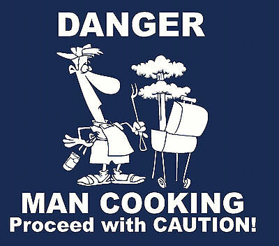 Danger man cooking grill Port Authority funny Apron or just apron A520