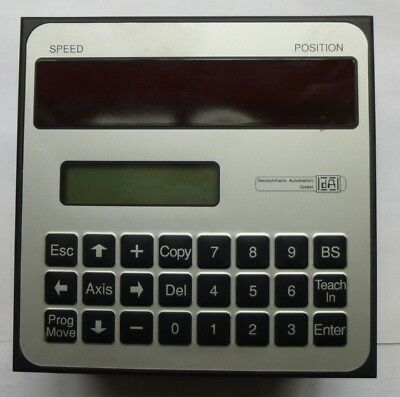 Locon 24/48/64 Electronic Cam Control Display & Operating Unit 24-S8192-IP108