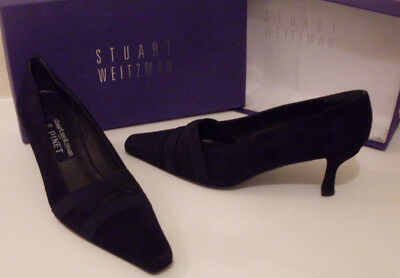 8446ccd673cf WEITZMAN   F. PINET France Designer Blue Suede Court Shoes Size UK 5 EU 38