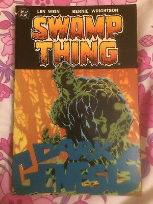 Swamp Thing Dark Genesis TPB Collects House of Secrets #92 & ST #1-10 DC Comics