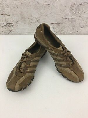 SKECHERS Brown Size 9.5 ACTIVE BIKERS DREAM COME TRUE Casual