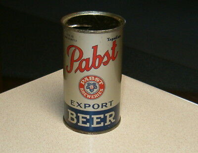 """Pabst """"tapa Can"""" Flat Top Beer Can Premier-Pabst Brg Co. Irtp Very Nice!!"""