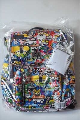 59606e2edb50 Ju-Ju-Be Be Sporty Sushi Cars backpack Brand New with Tags Donutella Palette