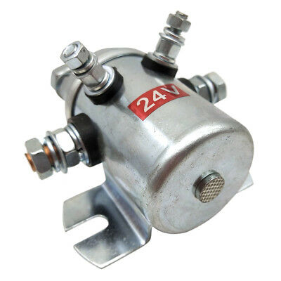 Continuous Duty 24V Winch Reversing Solenoid Relay for Marine Golf Cart