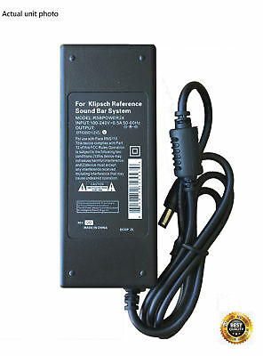 AC Adapter - Power Supply for Klipsch Reference R-10B Soundbar R10B Sound Bar