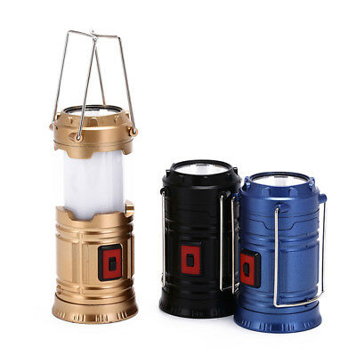 portable led super bright camping lantern tent fishing outdoor lamp light GY