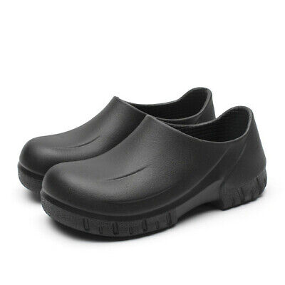 New Mens Non Slip Chef Shoes Kitchen Oil Resistant Waterproof Work