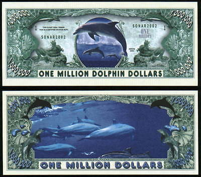 Million Dollar Series } Dolphin - Million Dollar Bill