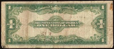 Large 1923 $1 Dollar Bill Silver Certificate Note Big Currency Old Paper Money