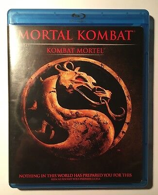 Mortal Kombat Movie (Blu-ray Disc, 2011, Canadian version, Bilingual)