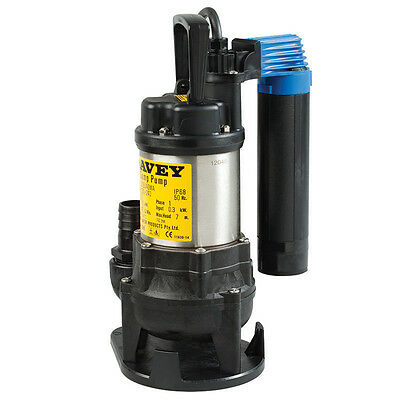 Davey Submersible Drainage Sump Pump D15Vagma With Vertical Float