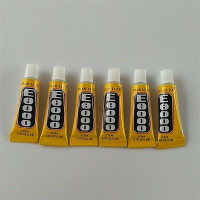 200Pcs 3ml Clear E8000 Glue Epoxy Resin For Crystal Jewelry Fabric Diy Adhesive