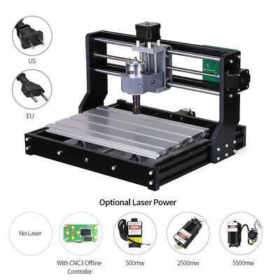 CNC3018 PRO DIY Router Kit Engraving Machine GRBL Control 3Axis For PCB PVC F5M2