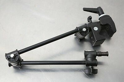 Manfrotto 196B-2 Single Articulated Arm with 035 Super Clamp. Bogen 2935 Arm.