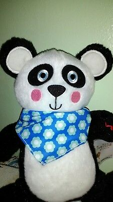 Tiny Tillia by Avon Isabella Panda Calming Sound Animal Plush