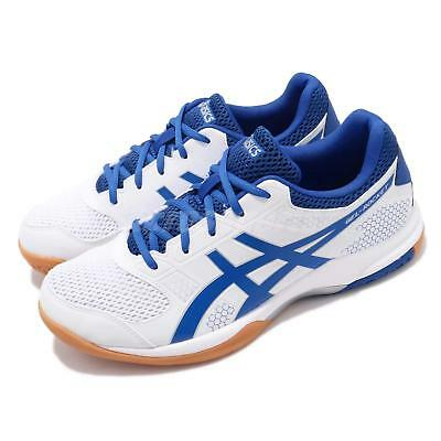 cf66ebc62e8 ASICS GEL-ROCKET 8 White Black Red Gum Men Volleyball Badminton ...
