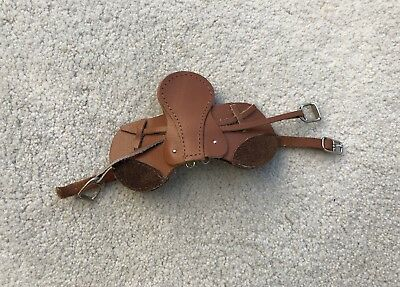 Breyer Horse Traditional Accessory All-Purpose Leather English Saddle Brown
